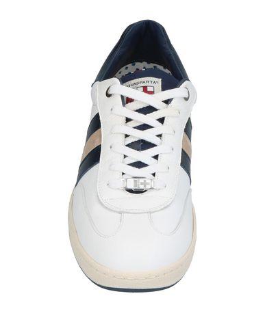 Фото 2 - Низкие кеды и кроссовки от D'ACQUASPARTA белого цвета