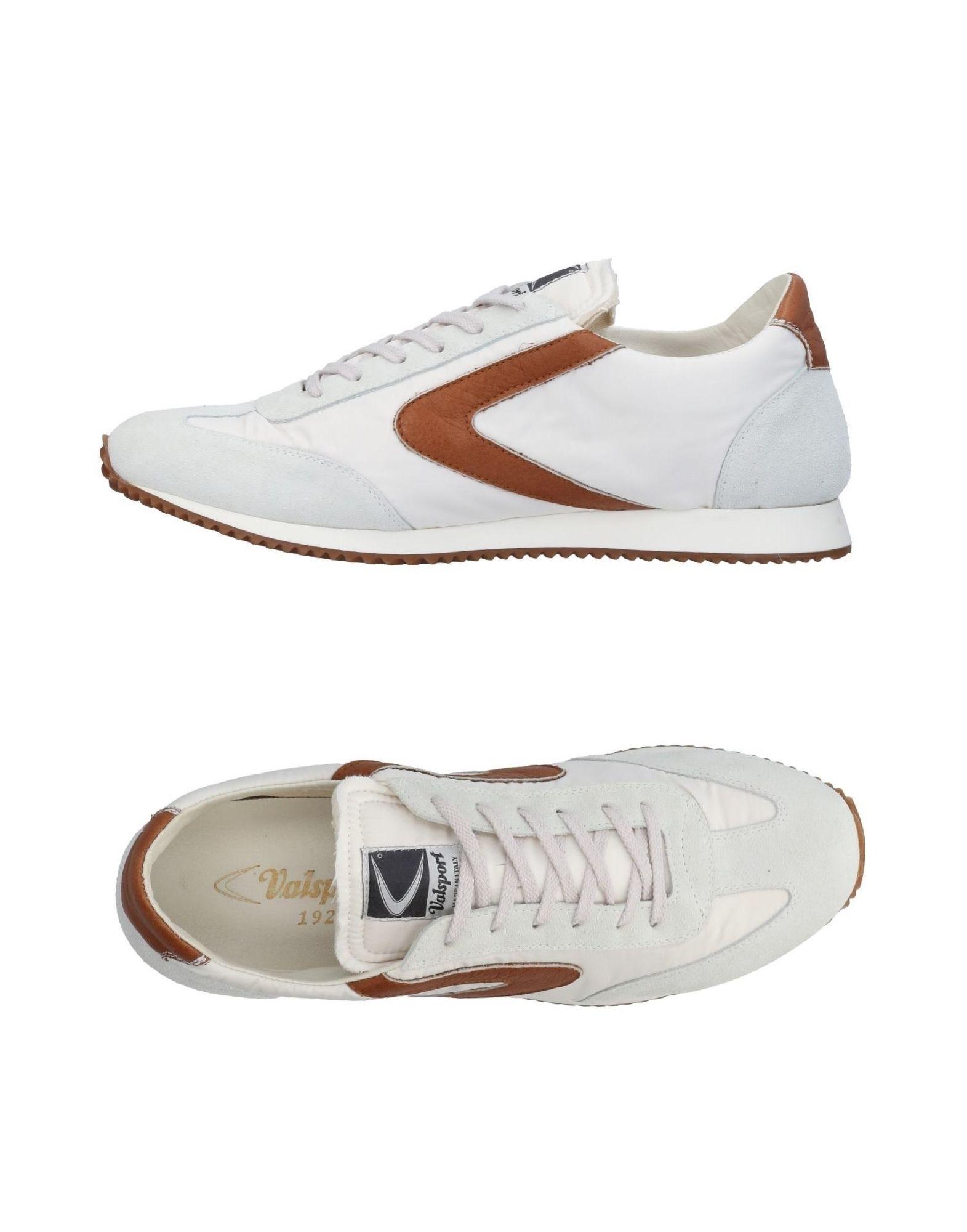 《送料無料》VALSPORT メンズ スニーカー&テニスシューズ(ローカット) ホワイト 40 紡績繊維 / 革