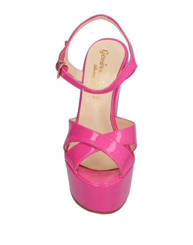 Фото 2 - Женские сандали  цвета фуксия
