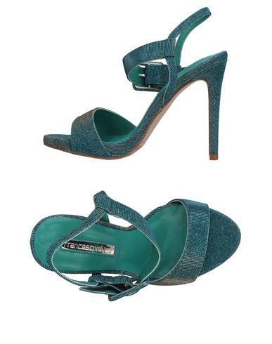 Купить Женские сандали  лазурного цвета