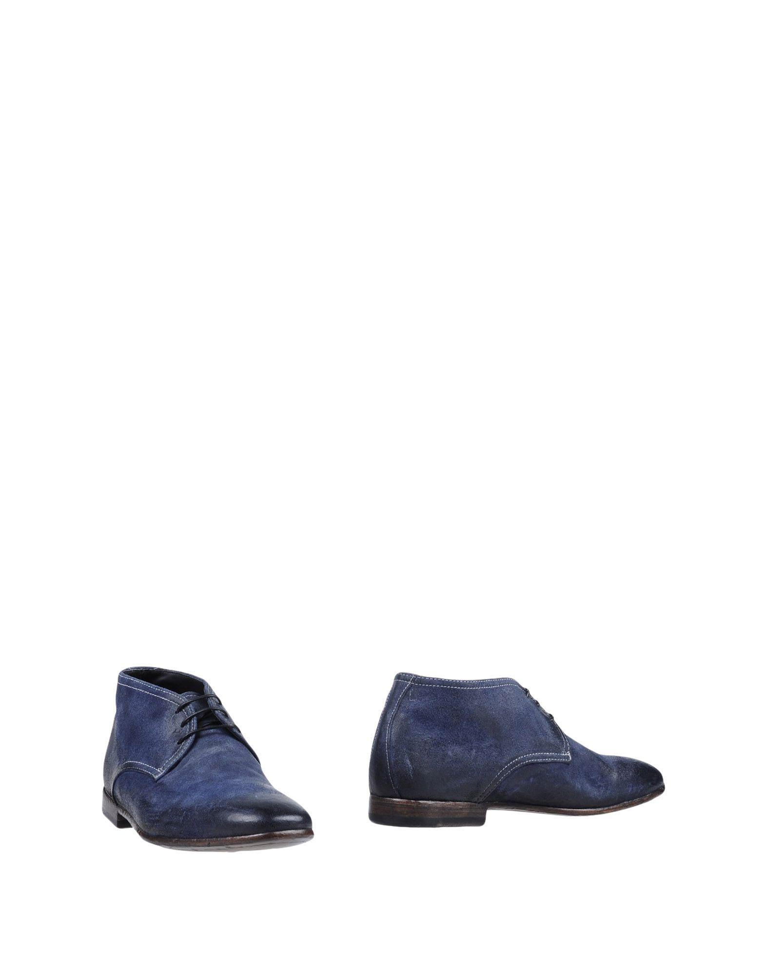 《送料無料》PREVENTI メンズ ショートブーツ ブルー 41 革