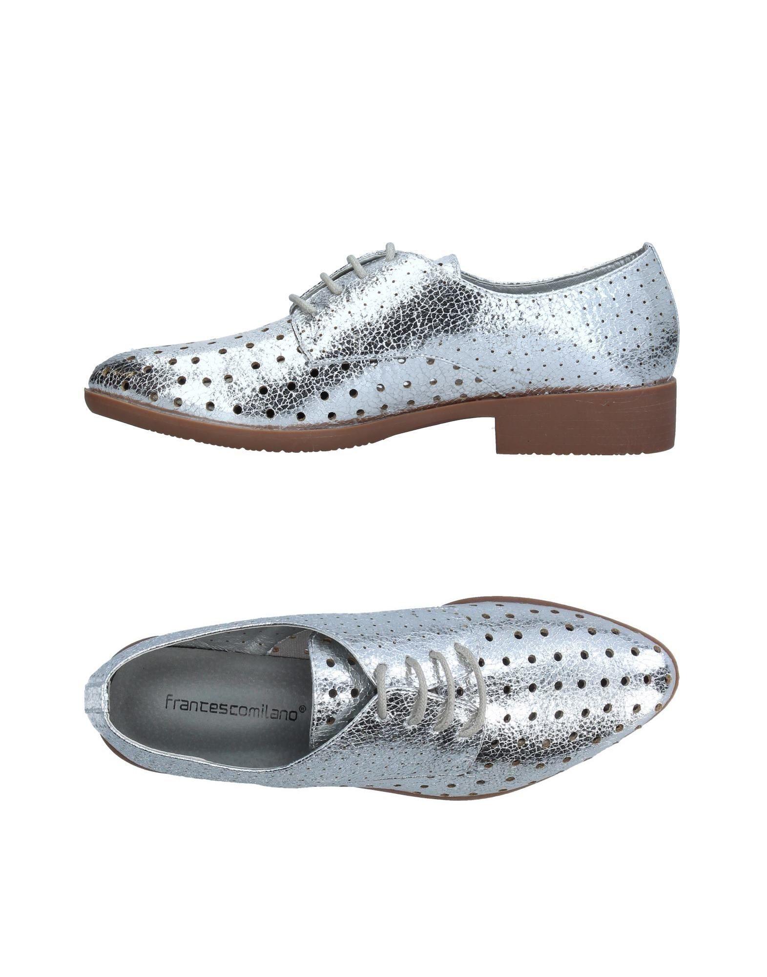 FRANCESCO MILANO Обувь на шнурках francesco morichetti обувь на шнурках