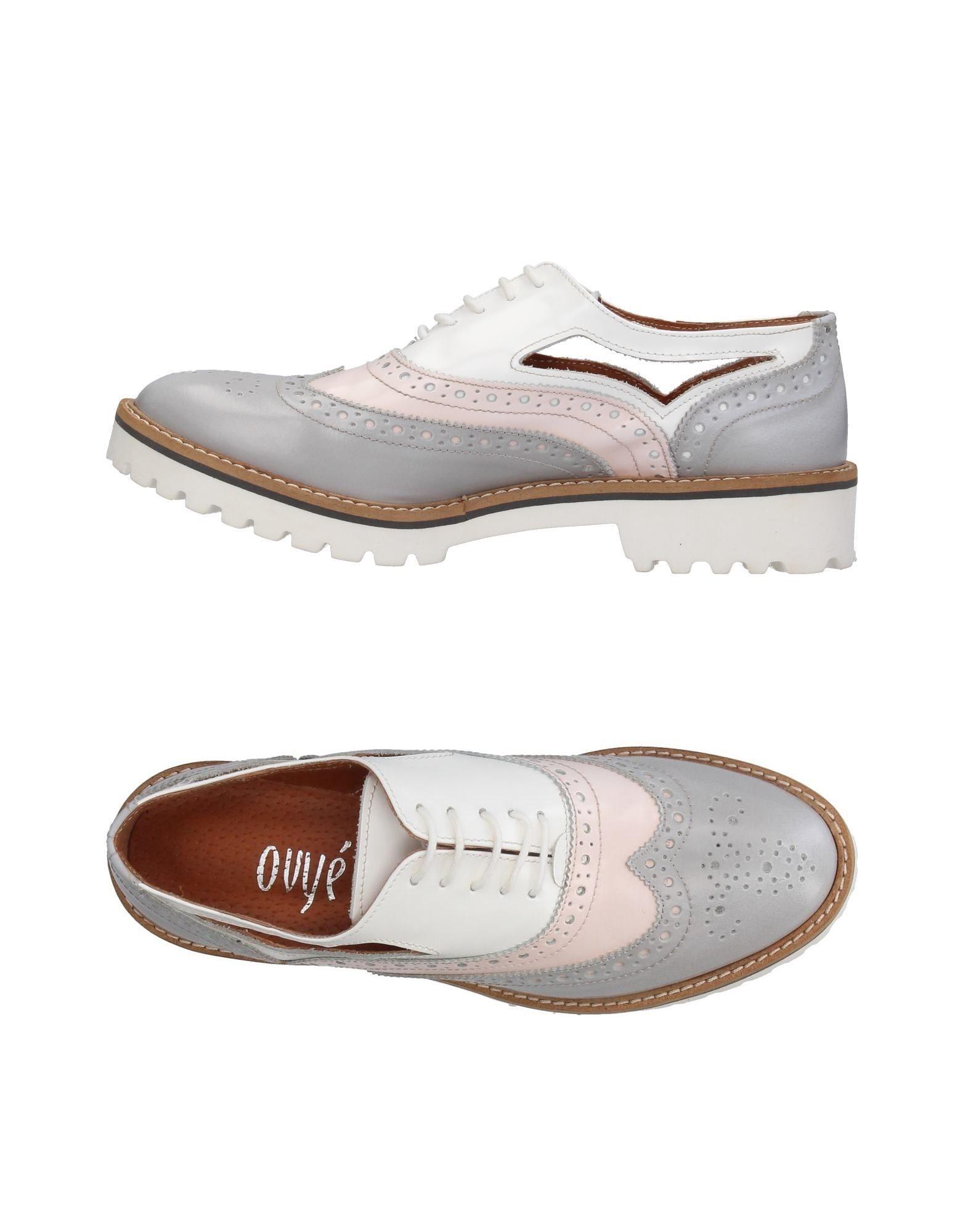 OVYE' by CRISTINA LUCCHI Обувь на шнурках цены онлайн