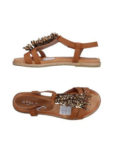 Фото - Женские сандали STELE желто-коричневого цвета