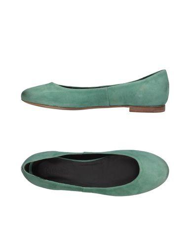 Купить Женские балетки PREVENTI светло-зеленого цвета