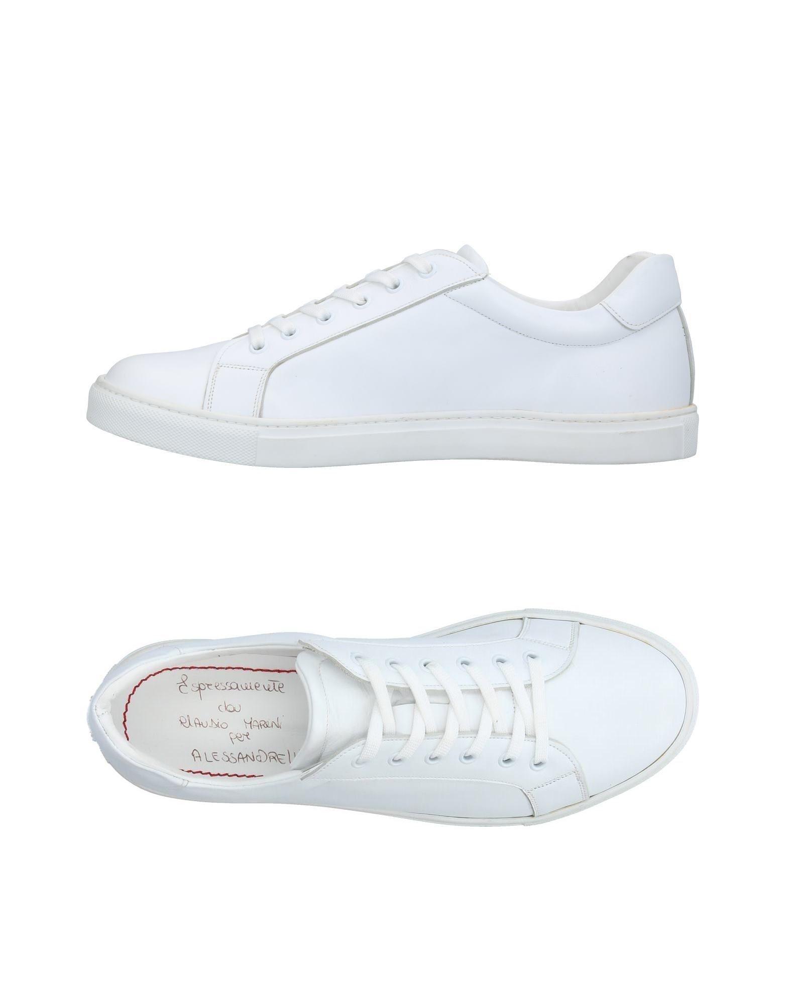 CLAUDIO MARINI Низкие кеды и кроссовки цены онлайн
