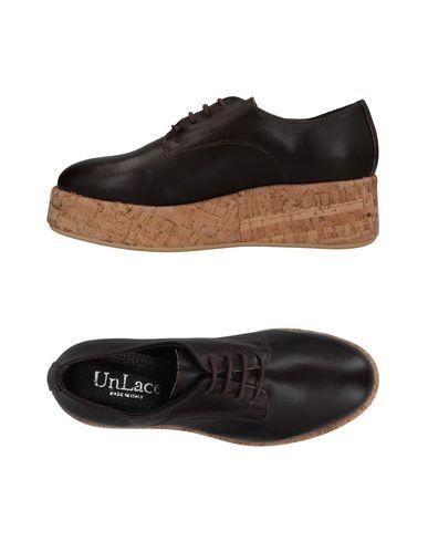 Фото - Обувь на шнурках от UNLACE темно-коричневого цвета