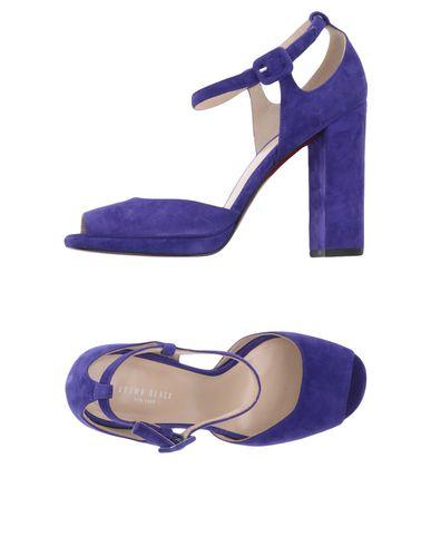 Фото - Женские сандали BROWN BLACK фиолетового цвета