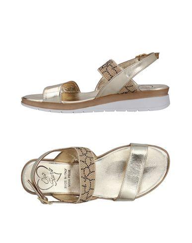 Фото - Женские сандали OROSCURO цвет платиновый