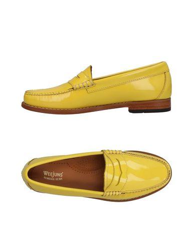 Фото - Женские мокасины  желтого цвета