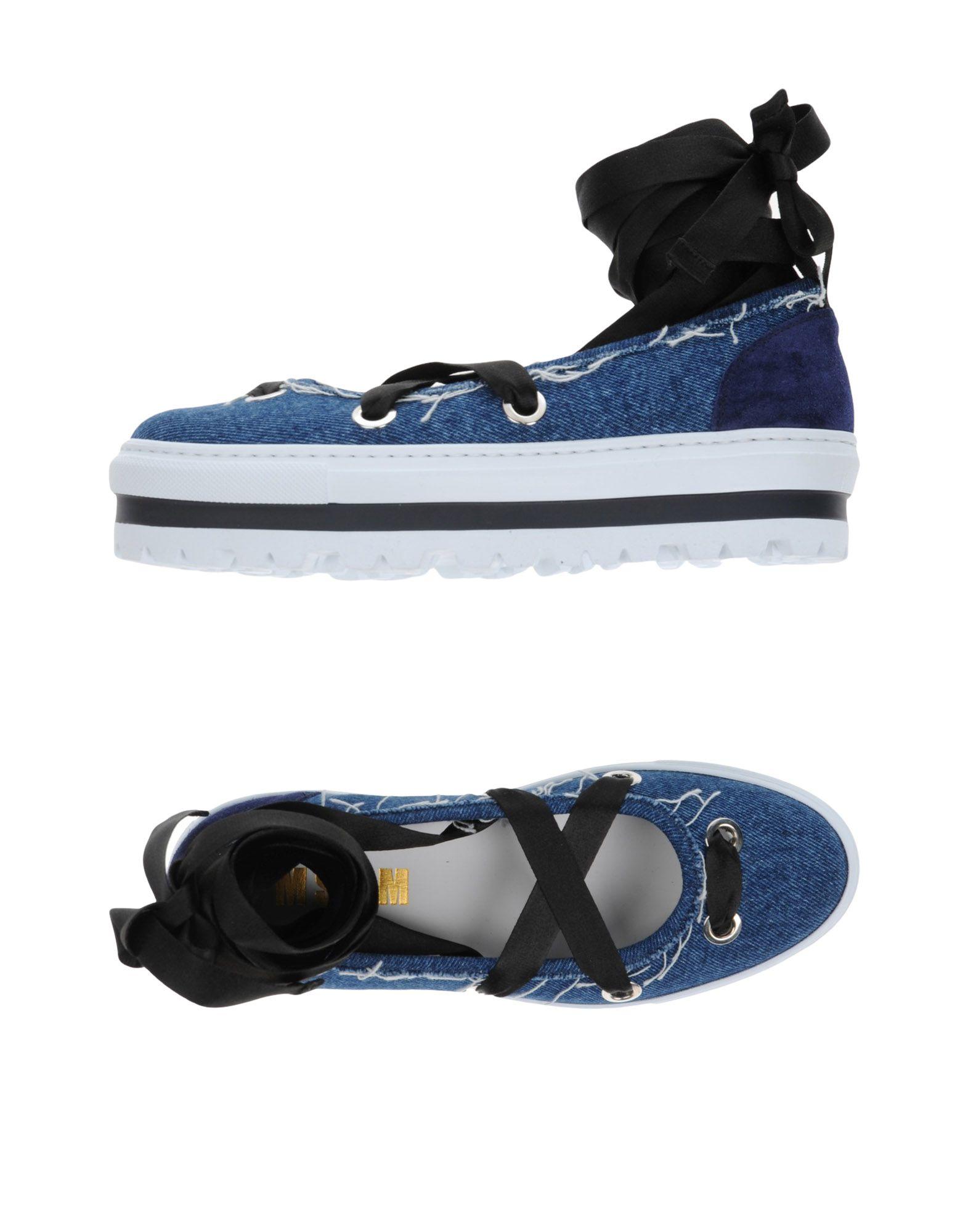 MSGM Низкие кеды и кроссовки aurora низкие кеды и кроссовки
