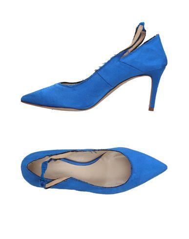 Фото - Женские туфли  синего цвета