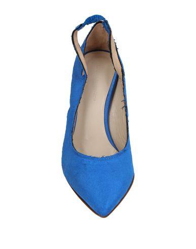 Фото 2 - Женские туфли  синего цвета