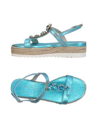 Купить Женские сандали DIVINE FOLLIE бирюзового цвета