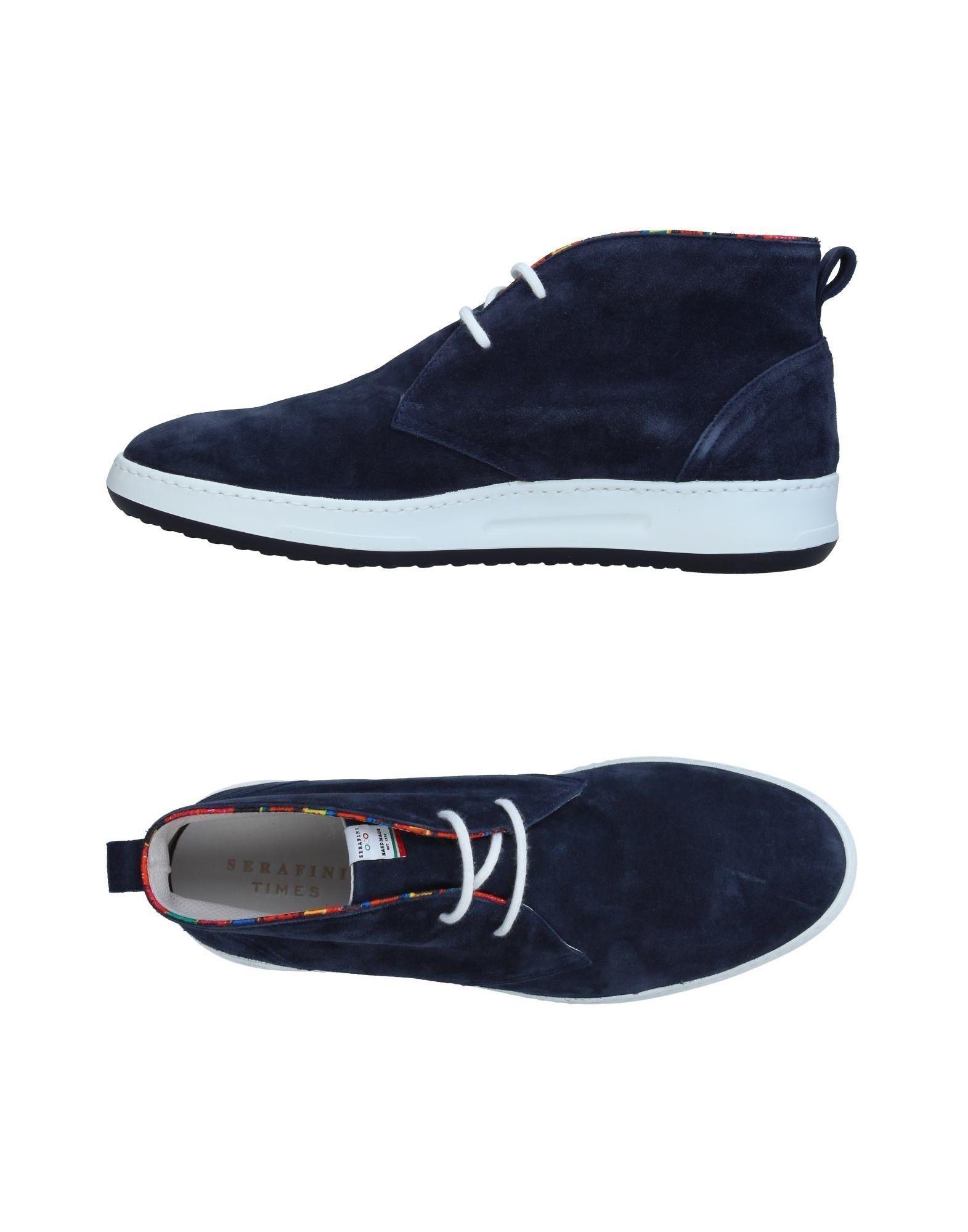 SERAFINI TIMES Высокие кеды и кроссовки