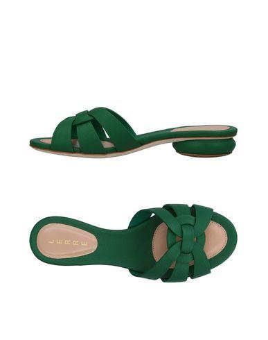 Фото - Женские сандали LERRE зеленого цвета
