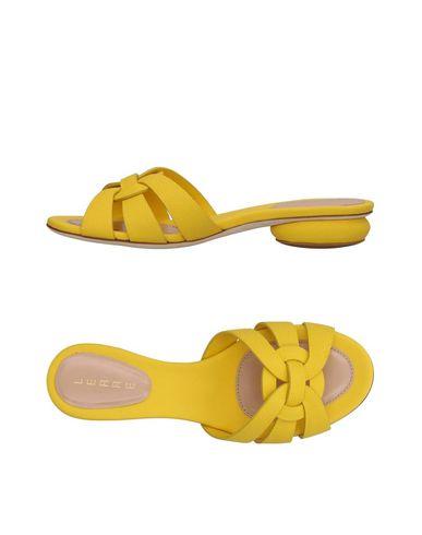 Фото - Женские сандали LERRE желтого цвета