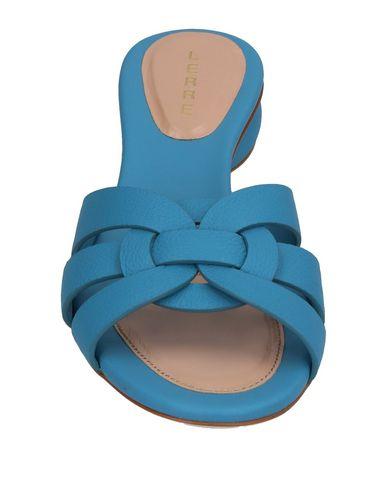 Фото 2 - Женские сандали LERRE пастельно-синего цвета