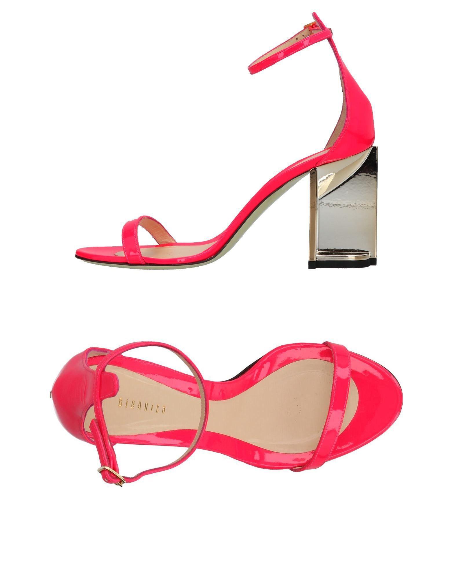 GIANNICO Damen Sandale Farbe Fuchsia Größe 7 - broschei