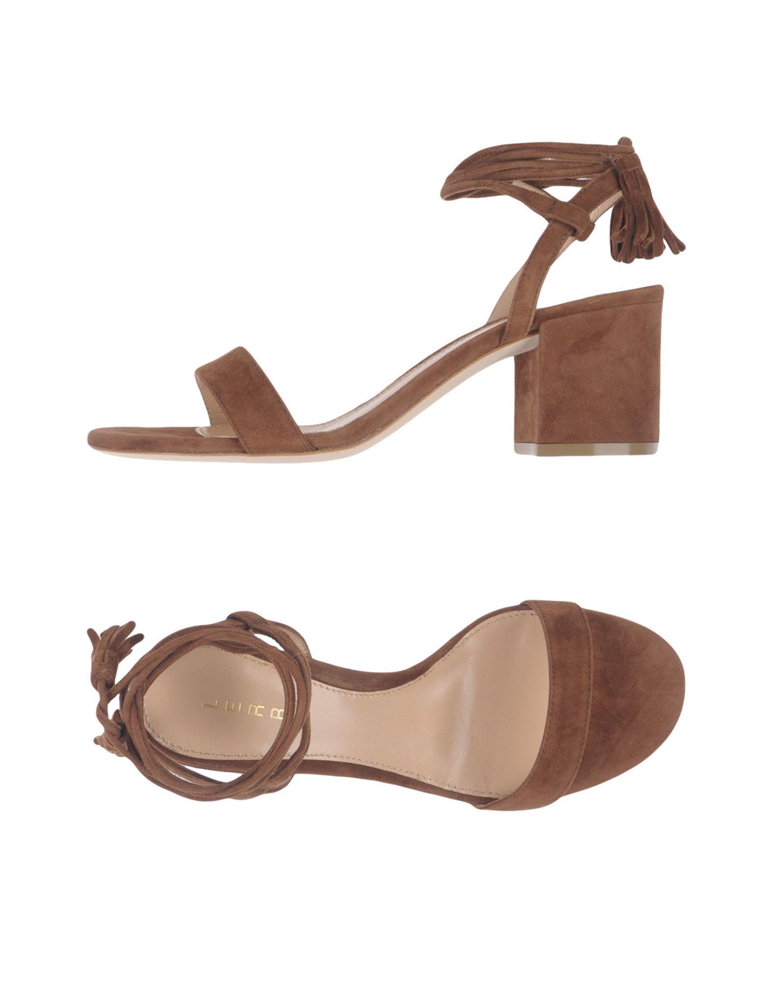 LERRE Damen Sandale Farbe Braun Größe 7 - broschei