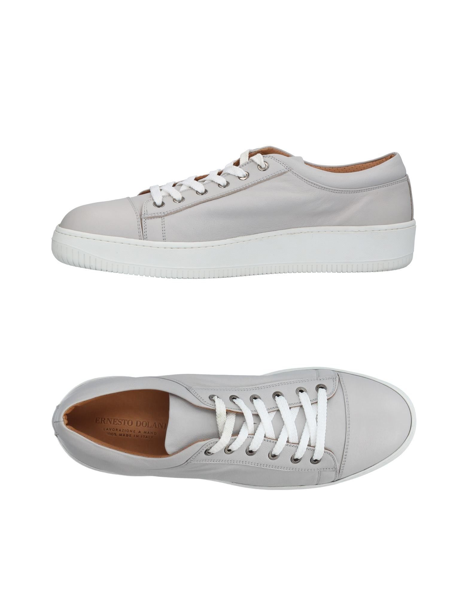 ERNESTO DOLANI Herren Low Sneakers & Tennisschuhe Farbe Hellgrau Größe 15 jetztbilligerkaufen