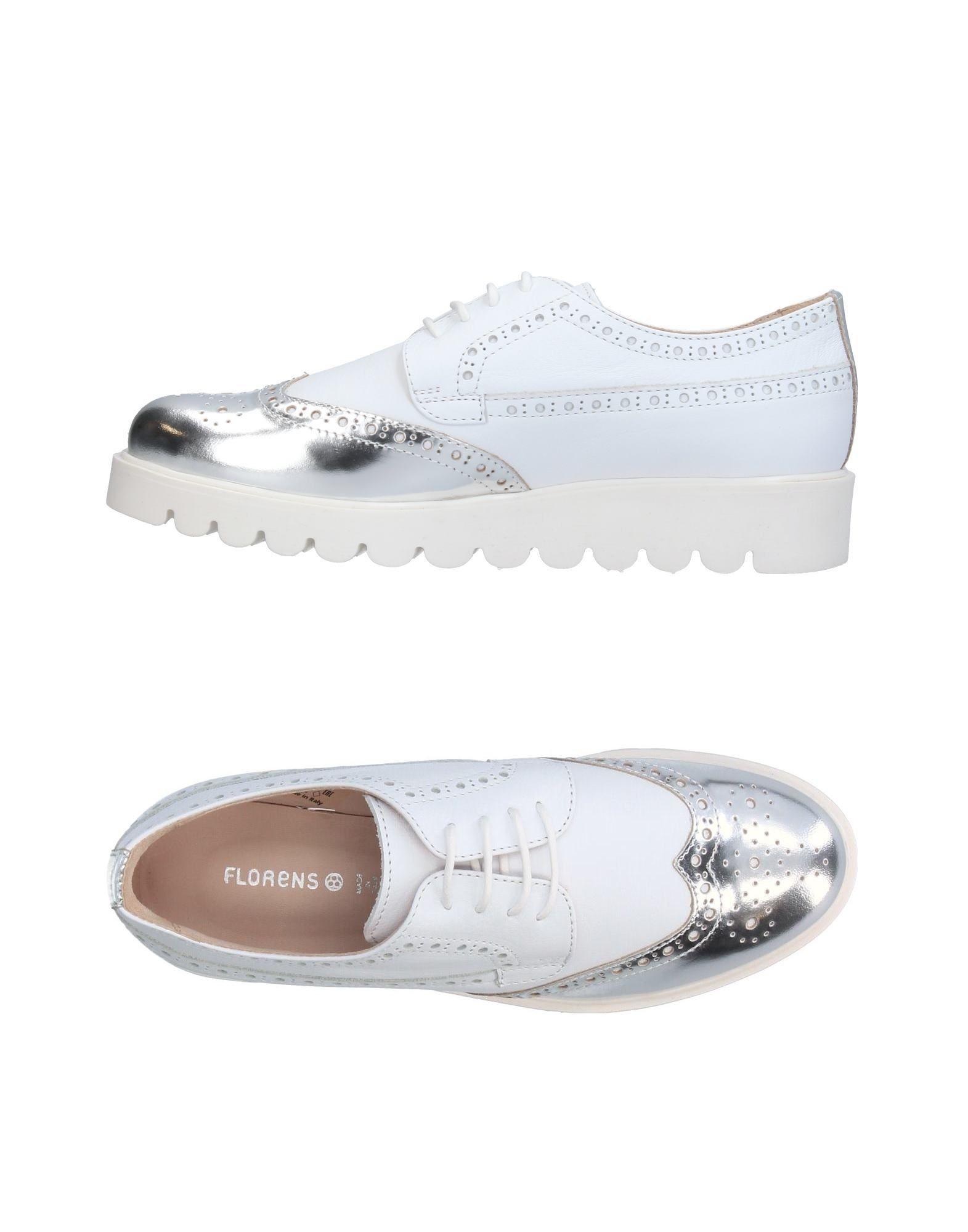 FLORENS Mädchen 9-16 jahre Schnürschuh Farbe Silber Größe 31 jetztbilligerkaufen