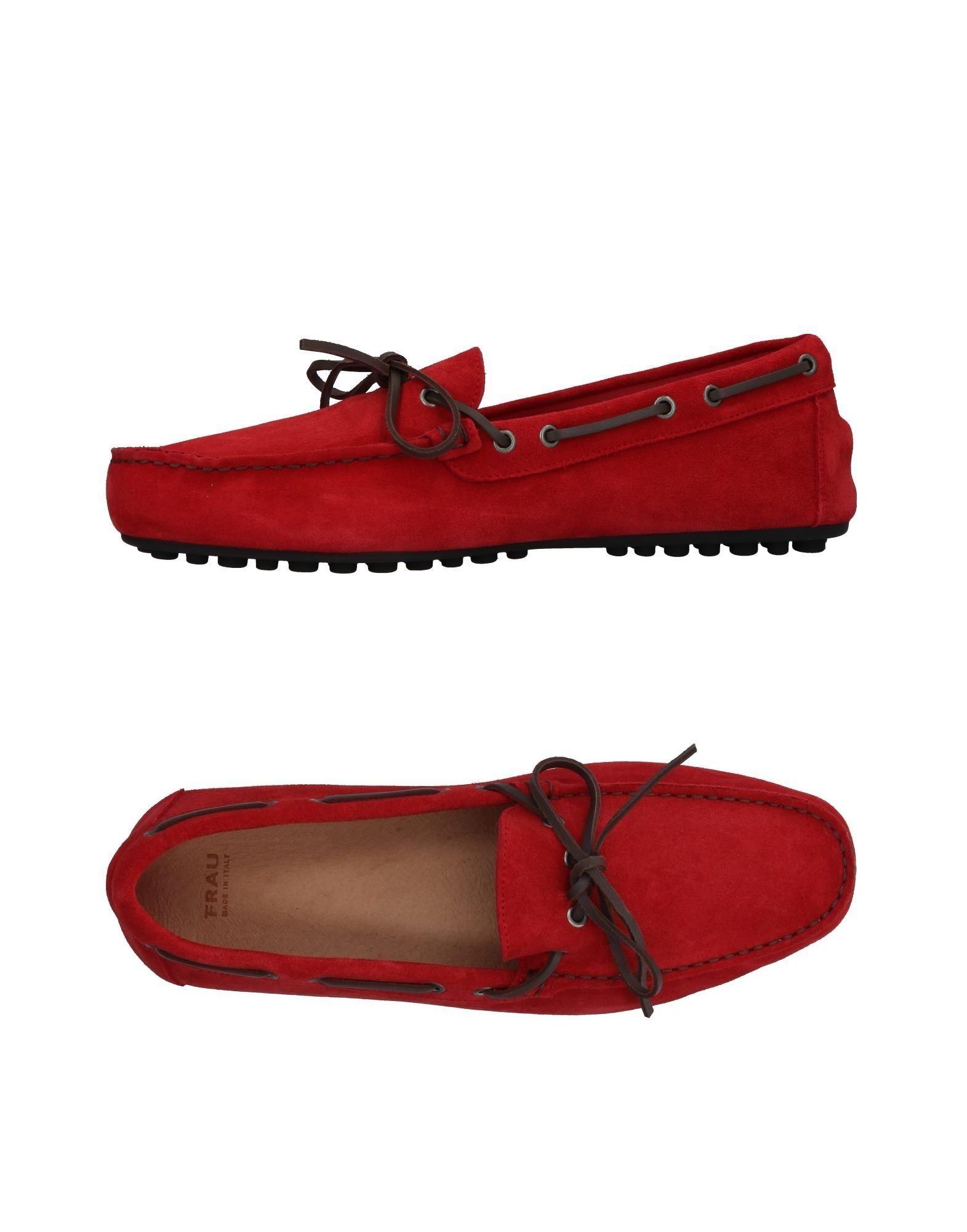 FRAU Herren Mokassin Farbe Rot Größe 15 jetztbilligerkaufen