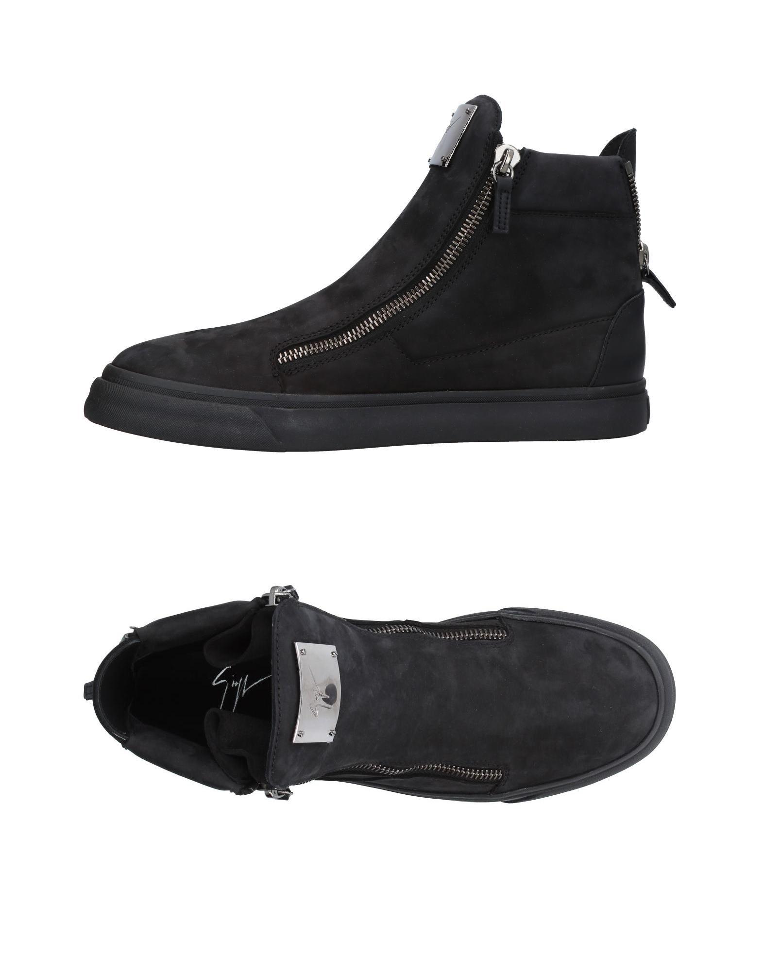 GIUSEPPE ZANOTTI DESIGN Herren High Sneakers & Tennisschuhe Farbe Schwarz Größe 5 jetztbilligerkaufen