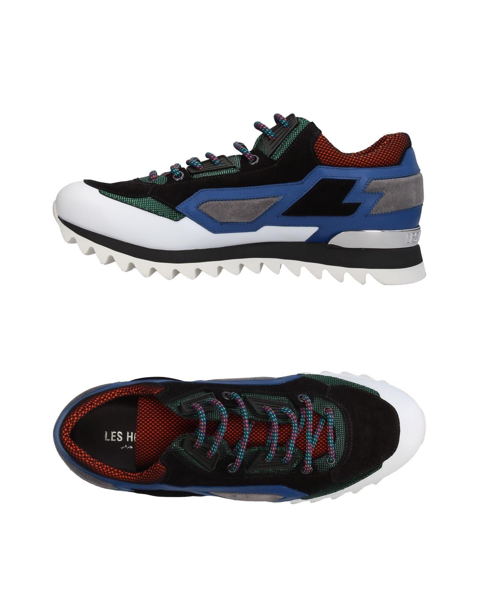 LES HOMMES Herren Low Sneakers & Tennisschuhe Farbe Schwarz Größe 9 jetztbilligerkaufen
