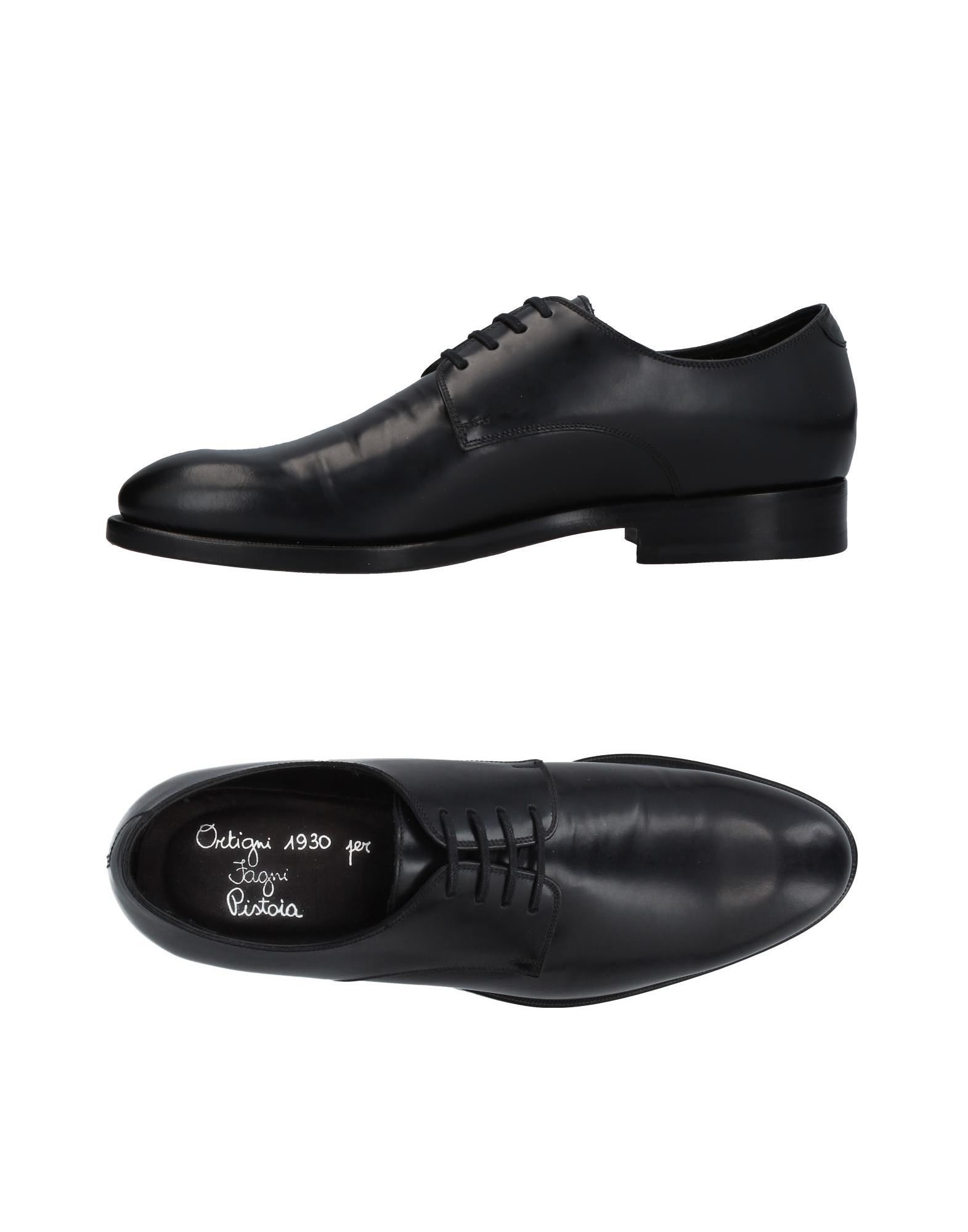 ORTIGNI Lace-Up Shoes in Black