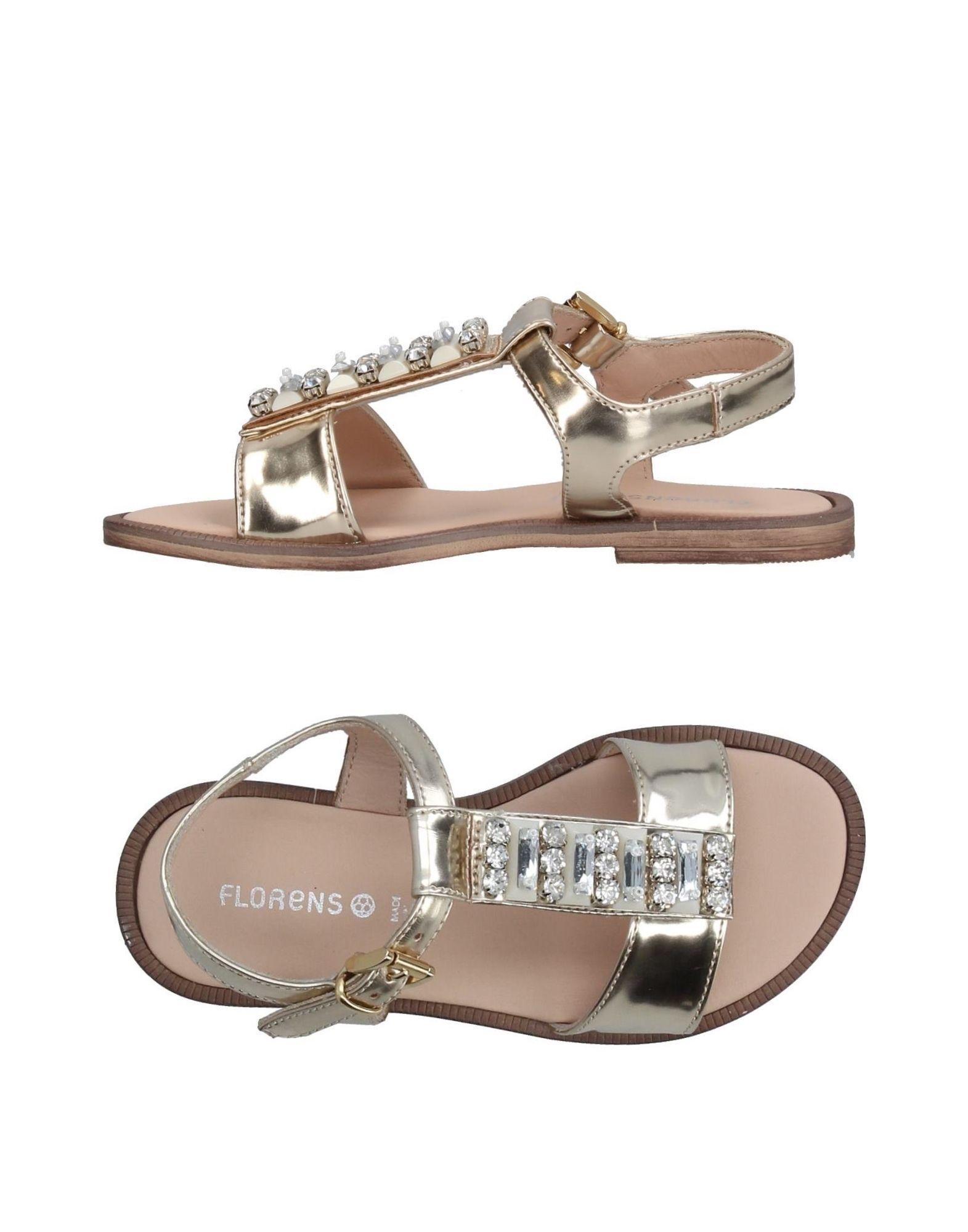 FLORENS Mädchen 3-8 jahre Sandale Farbe Platin Größe 9 jetztbilligerkaufen