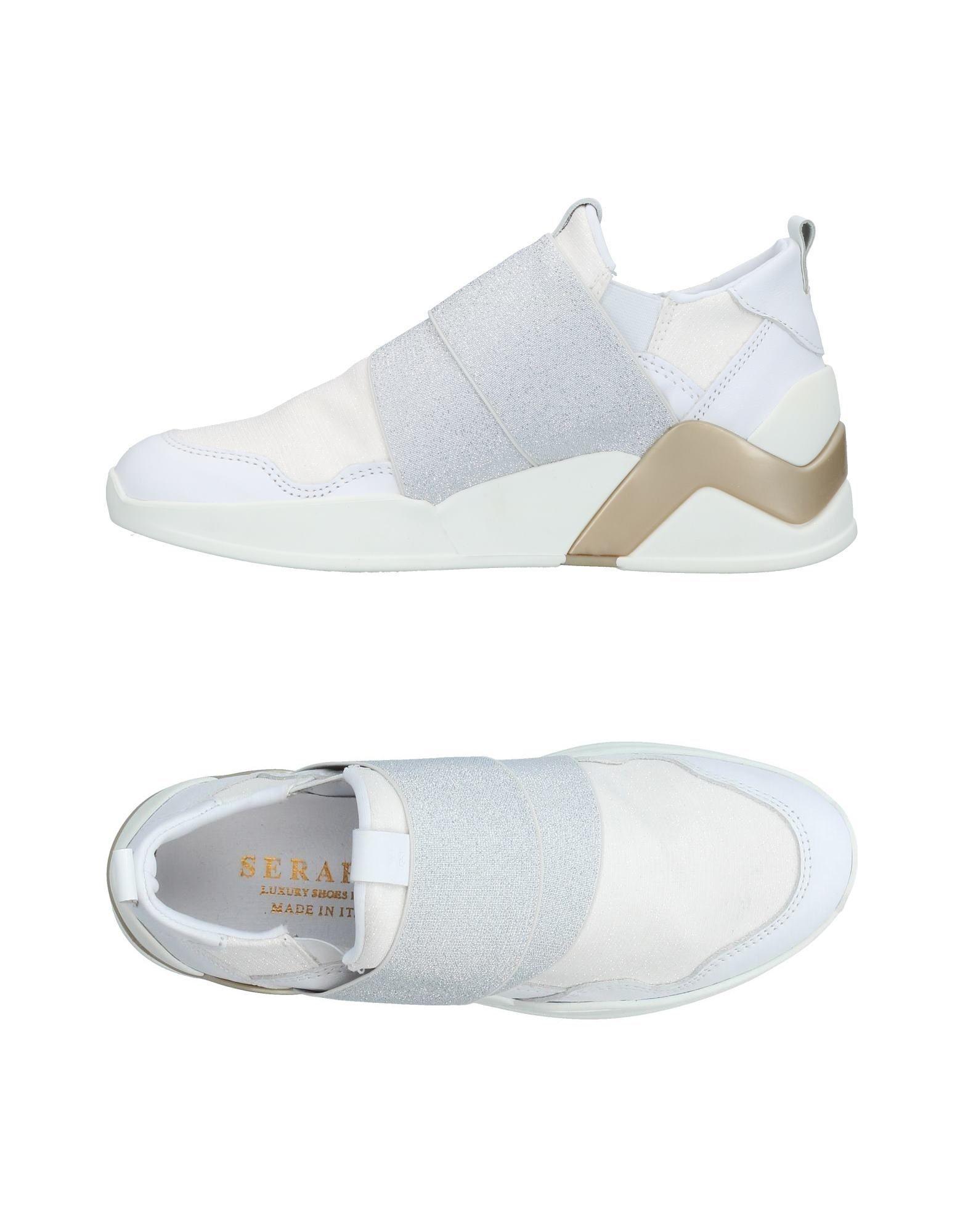 SERAFINI LUXURY Низкие кеды и кроссовки