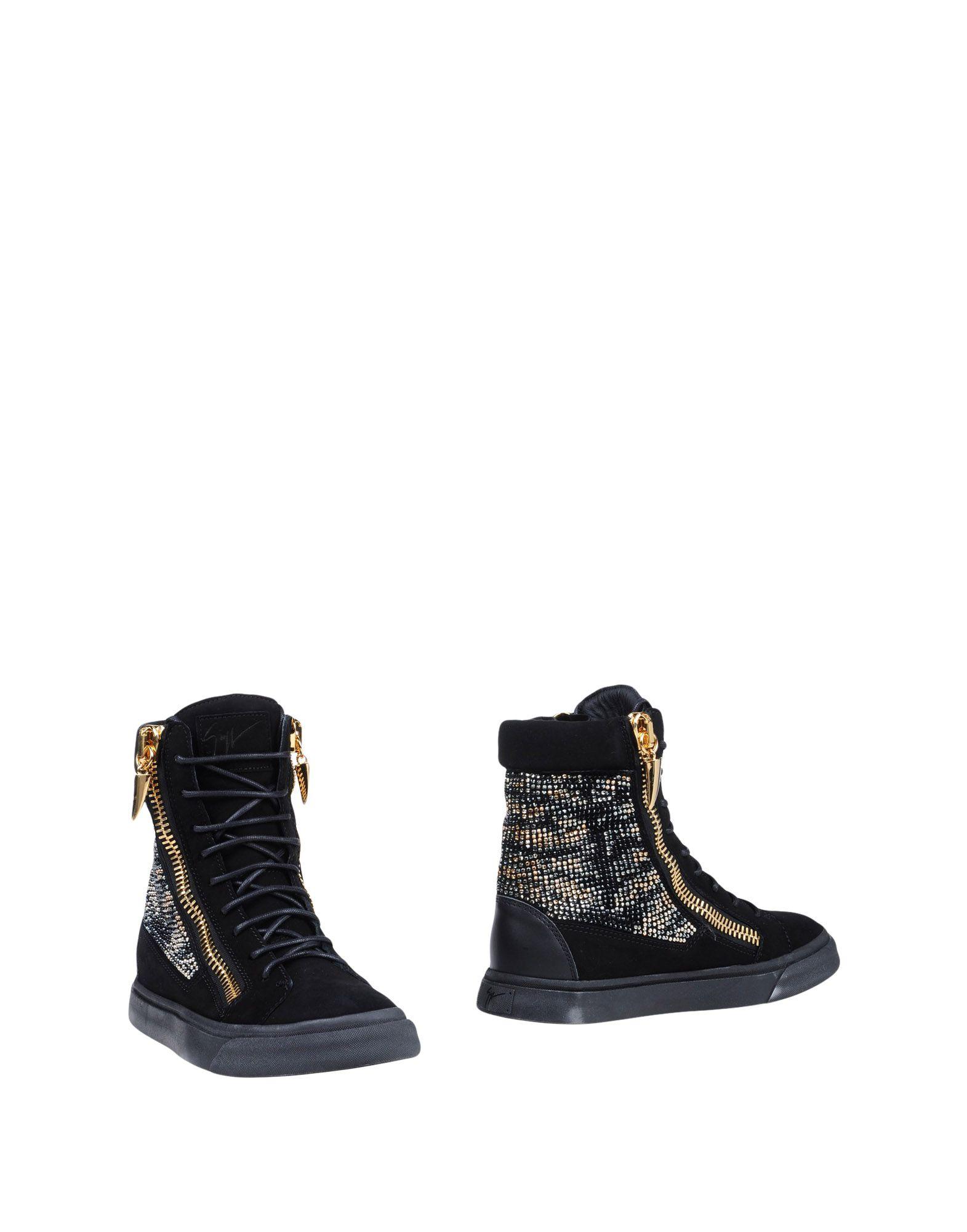GIUSEPPE ZANOTTI DESIGN Полусапоги и высокие ботинки giuseppe zanotti design замшевые слиперы с заклепками