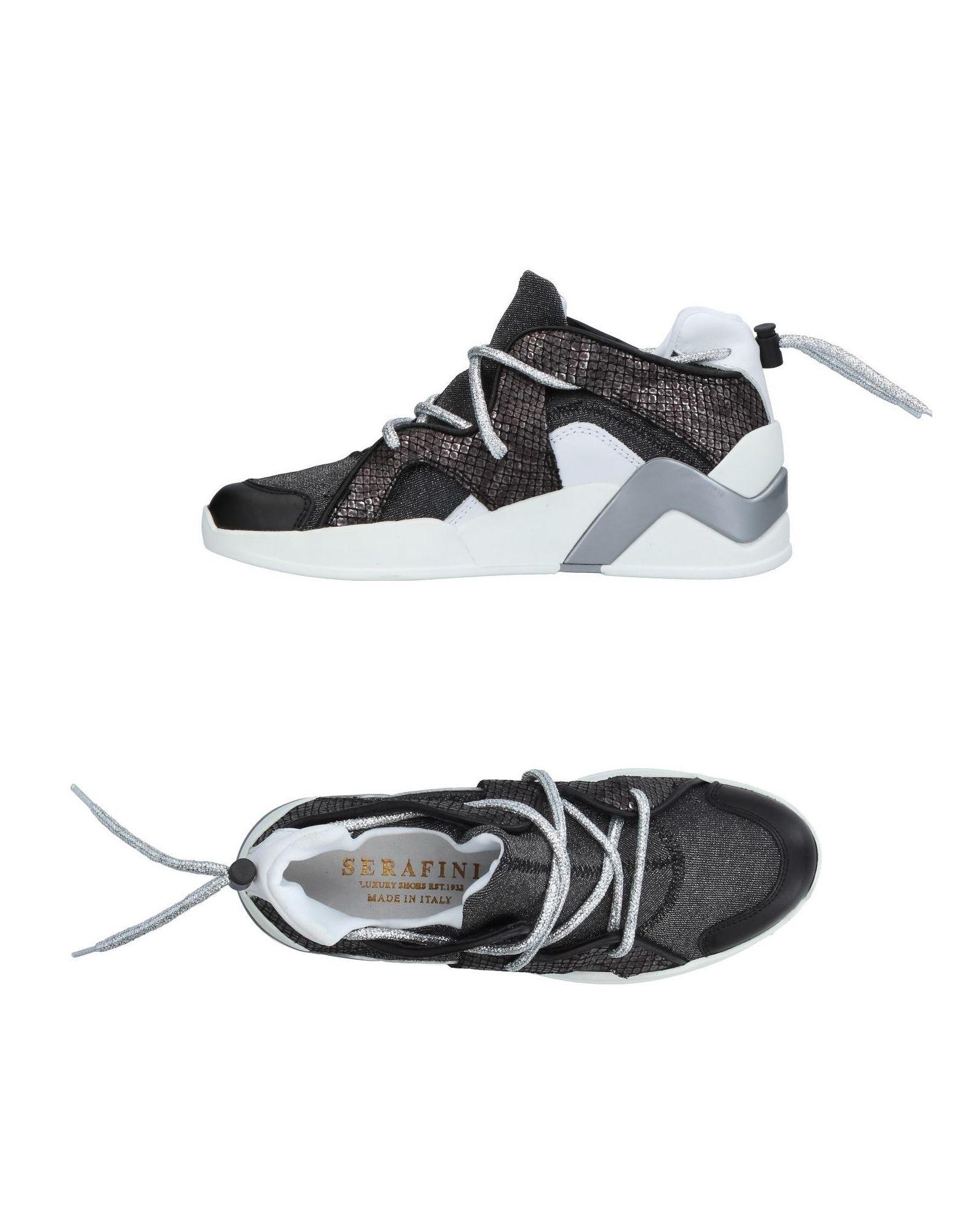 SERAFINI LUXURY Высокие кеды и кроссовки