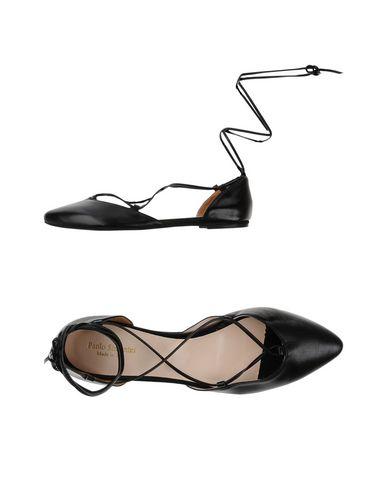 Купить Женские балетки PAOLO SIMONINI черного цвета