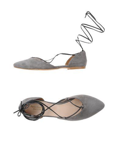 Купить Женские балетки PAOLO SIMONINI серого цвета
