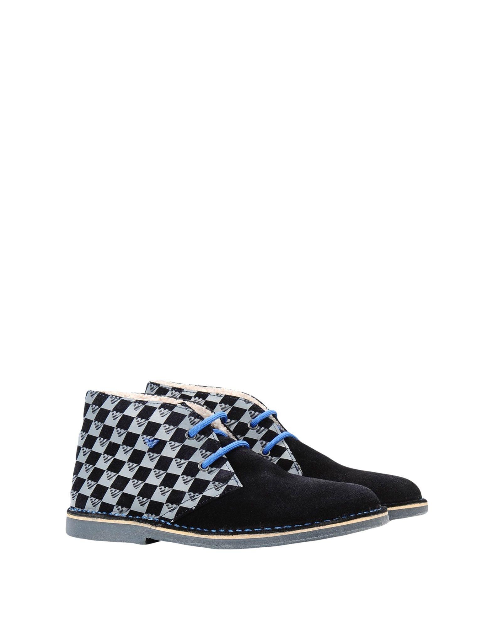 ARMANI JUNIOR Полусапоги и высокие ботинки armani exchange полусапоги и высокие ботинки