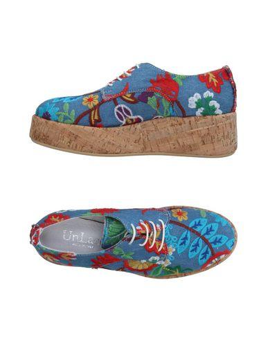 Фото - Обувь на шнурках от UNLACE синего цвета