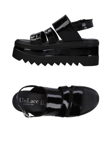 Фото - Женские сандали UNLACE черного цвета