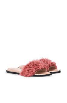 ALBERTA FERRETTI Monotone slipper Woman f