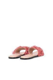 ALBERTA FERRETTI Monotone slipper Woman r