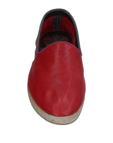 Фото 2 - Эспадрильи красного цвета