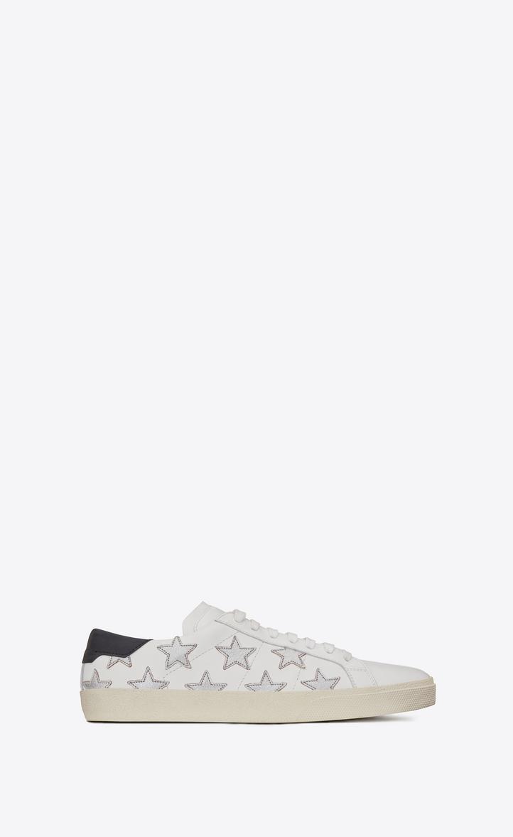 Saint Metallic California Sl06 Laurent Court Sneakers In Classic LUMGSpqVjz