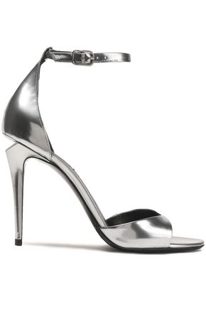 ALEXANDER WANG Metallic leather sandals