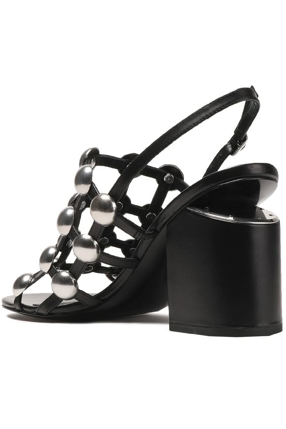 Studded leather sandals | ALEXANDER WANG | Sale up to 70% off | THE OUTNET