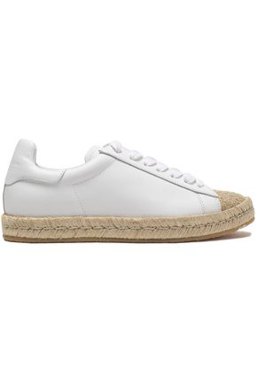 ALEXANDER WANG Leather espadrilles sneakers
