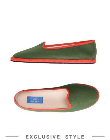Купить Женские мокасины ViBi  Venezia x YOOX зеленого цвета