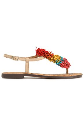 SAM EDELMAN Gates fringed leather sandals