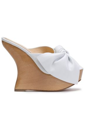 PALOMA BARCELÓ Knotted wedge sandals