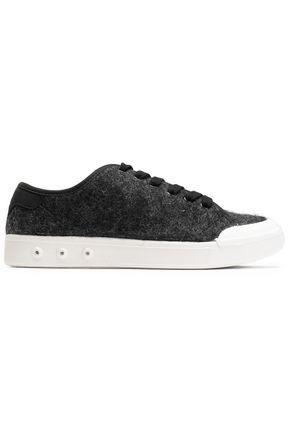 RAG & BONE Standard Issue felted wool sneakers